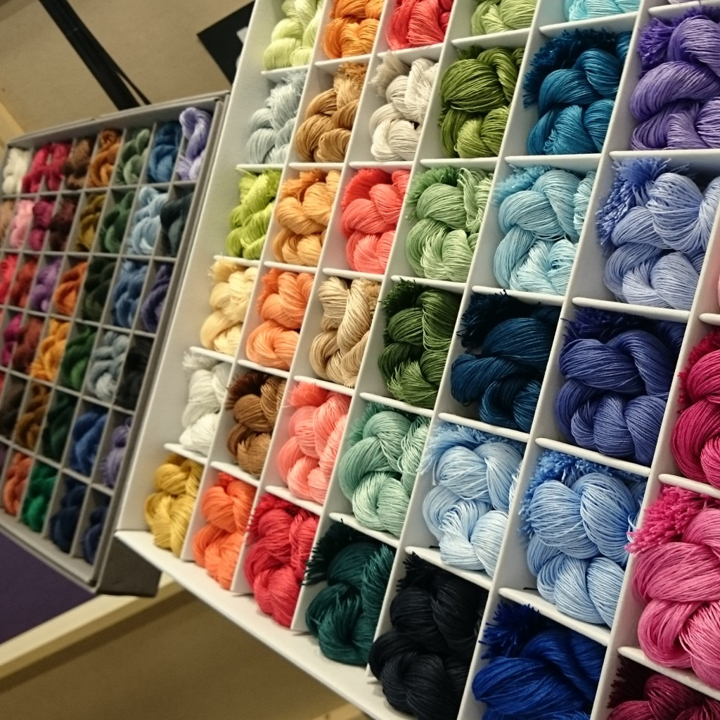 yARN COLOUR SWATCH